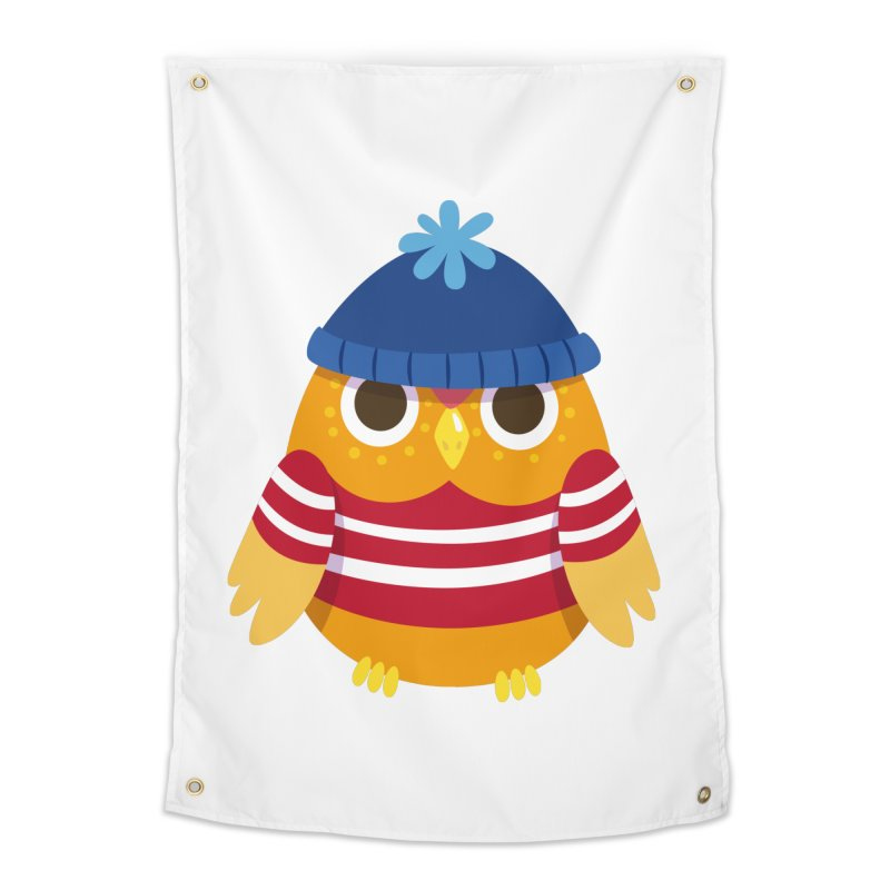 Owl Home Tapestry by Aura Designs | Funny T shirt, Sweatshirt, Phone ca