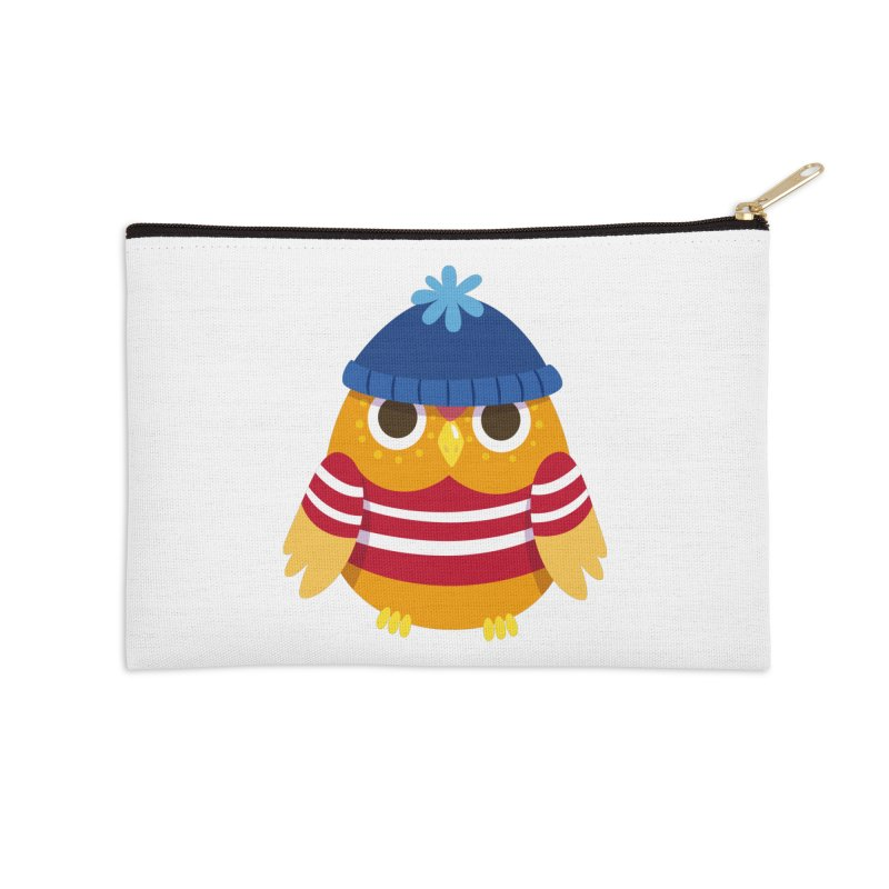 Owl Accessories Zip Pouch by Aura Designs | Funny T shirt, Sweatshirt, Phone ca