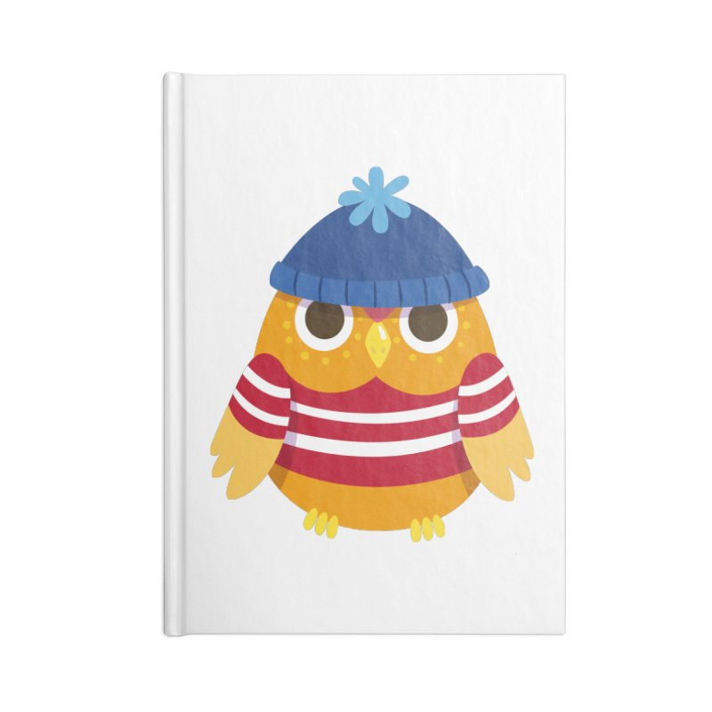 Owl Accessories Notebook by Aura Designs | Funny T shirt, Sweatshirt, Phone ca