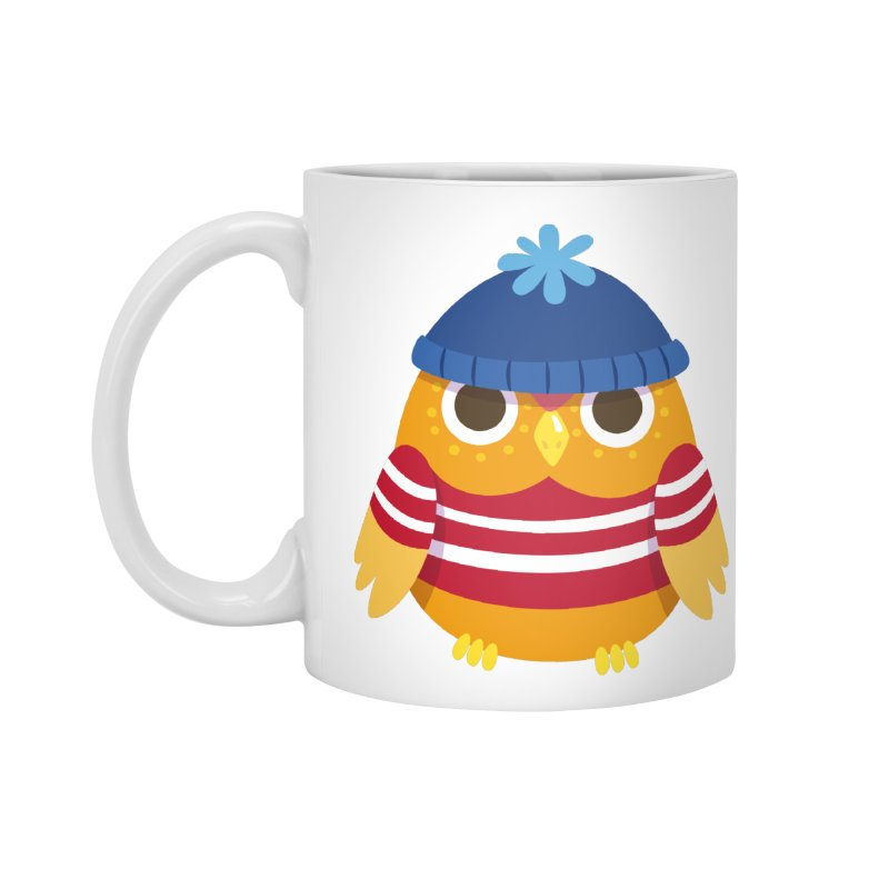 Owl Accessories Mug by Aura Designs | Funny T shirt, Sweatshirt, Phone ca