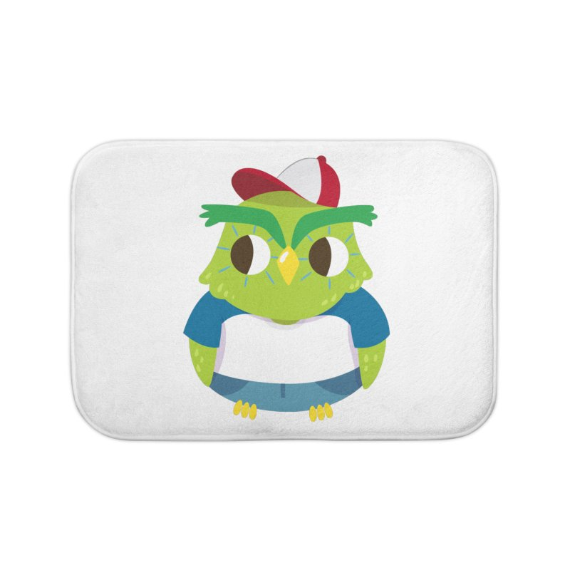 Owl Home Bath Mat by Aura Designs | Funny T shirt, Sweatshirt, Phone ca