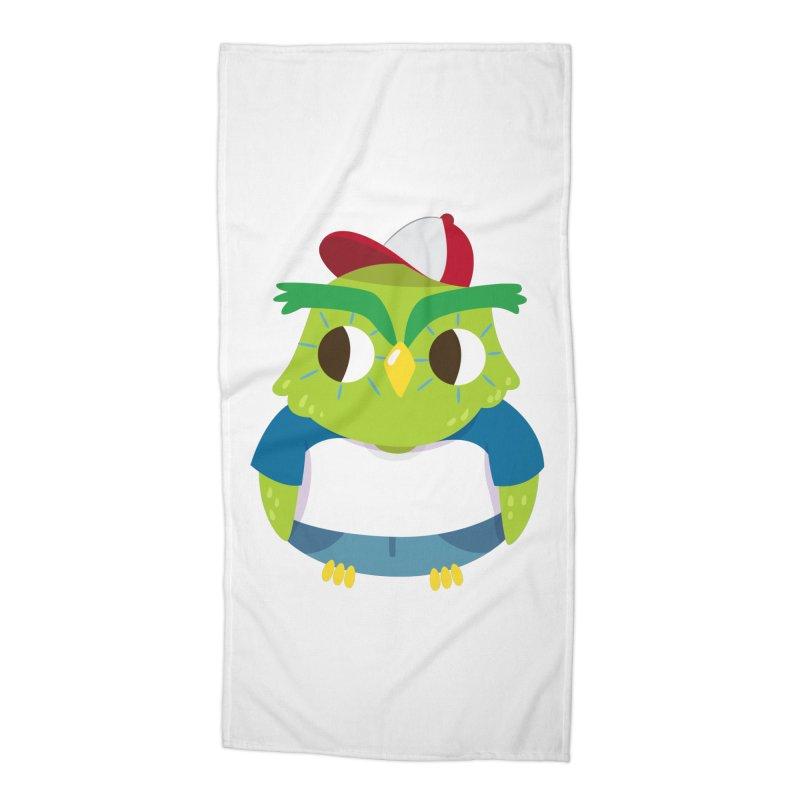 Owl Accessories Beach Towel by Aura Designs | Funny T shirt, Sweatshirt, Phone ca