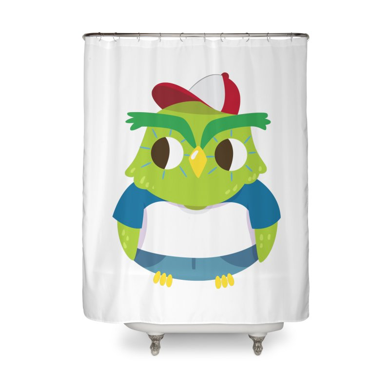 Owl Home Shower Curtain by Aura Designs | Funny T shirt, Sweatshirt, Phone ca