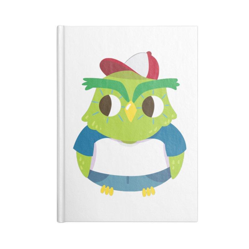 Owl Accessories Notebook by Aura Designs | Funny T shirt, Sweatshirt, Phone ca