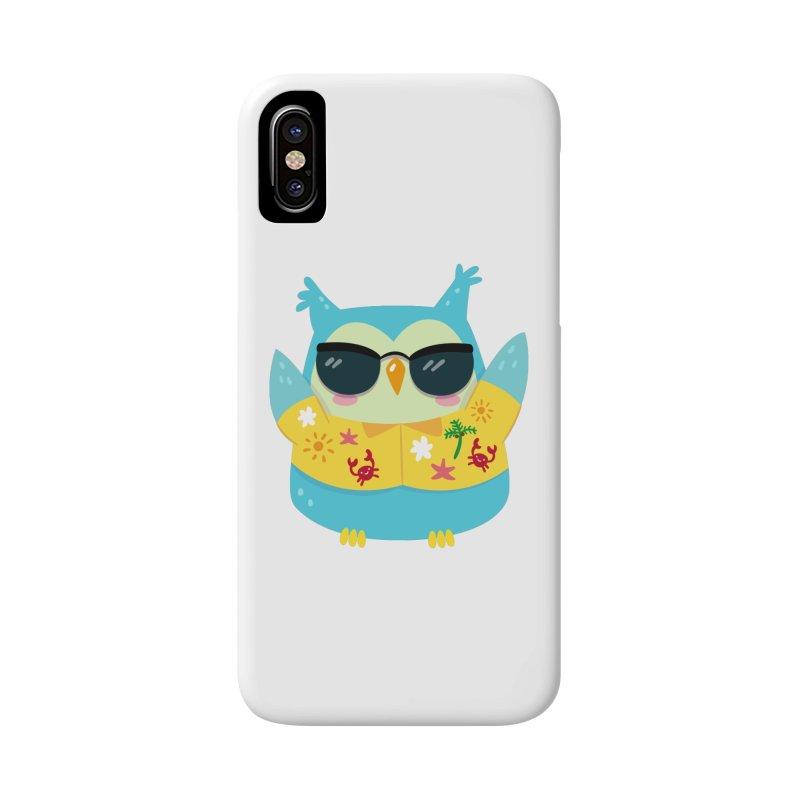 Owl Accessories Phone Case by Aura Designs | Funny T shirt, Sweatshirt, Phone ca