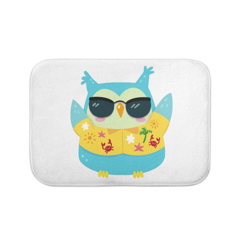 Owl Home Bath Mat by Aura Designs | Funny T shirt, Sweatshirt, Phone ca