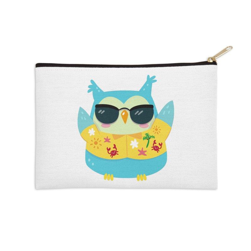 Owl Accessories Zip Pouch by Aura Designs   Funny T shirt, Sweatshirt, Phone ca