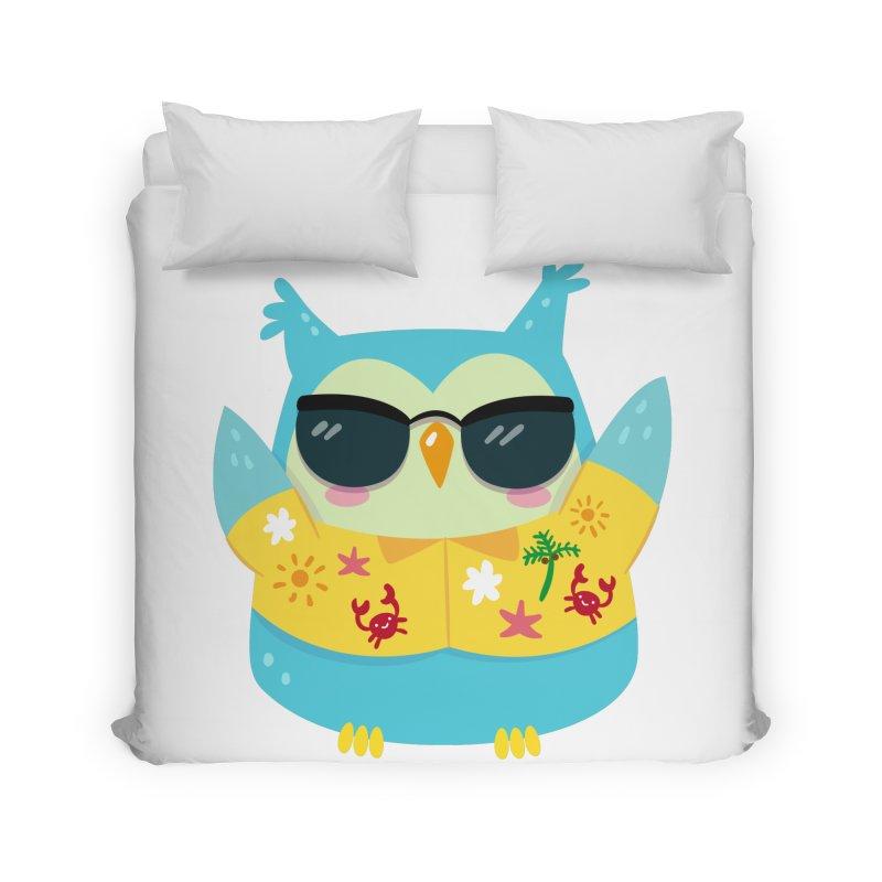 Owl Home Duvet by Aura Designs | Funny T shirt, Sweatshirt, Phone ca