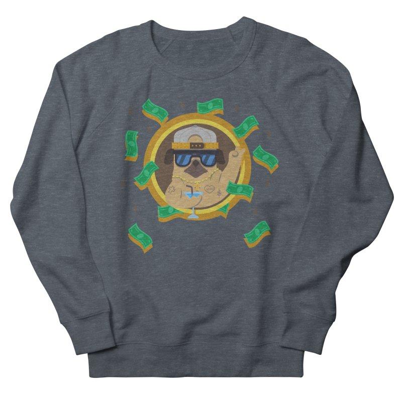 Pug Life Men's French Terry Sweatshirt by Aura Designs   Funny T shirt, Sweatshirt, Phone ca