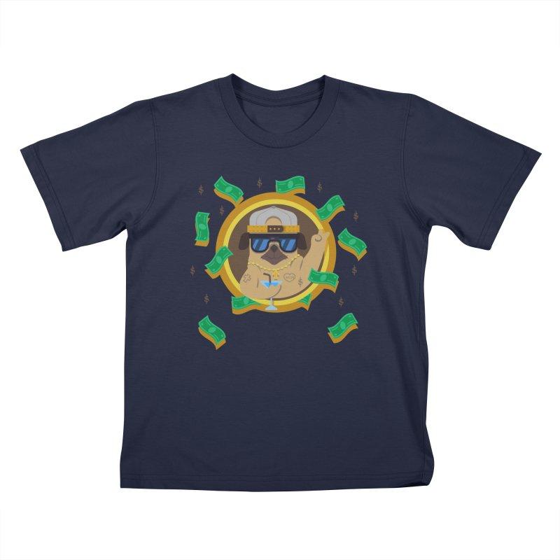 Pug Life Kids T-Shirt by Aura Designs | Funny T shirt, Sweatshirt, Phone ca