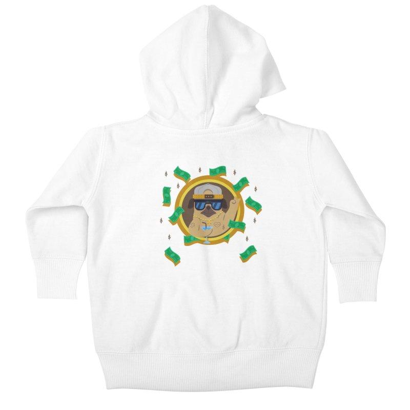 Pug Life Kids Baby Zip-Up Hoody by Aura Designs | Funny T shirt, Sweatshirt, Phone ca