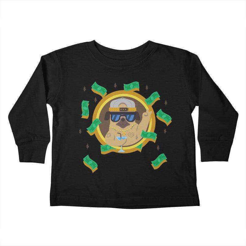 Pug Life Kids Toddler Longsleeve T-Shirt by Aura Designs | Funny T shirt, Sweatshirt, Phone ca