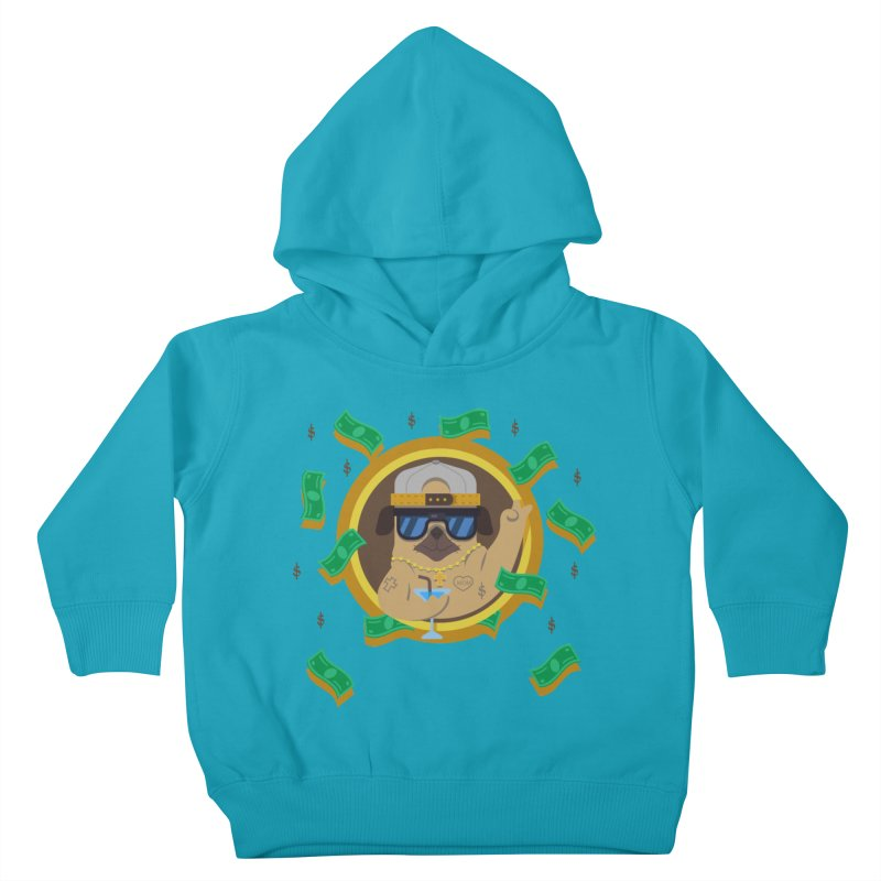 Pug Life Kids Toddler Pullover Hoody by Aura Designs | Funny T shirt, Sweatshirt, Phone ca