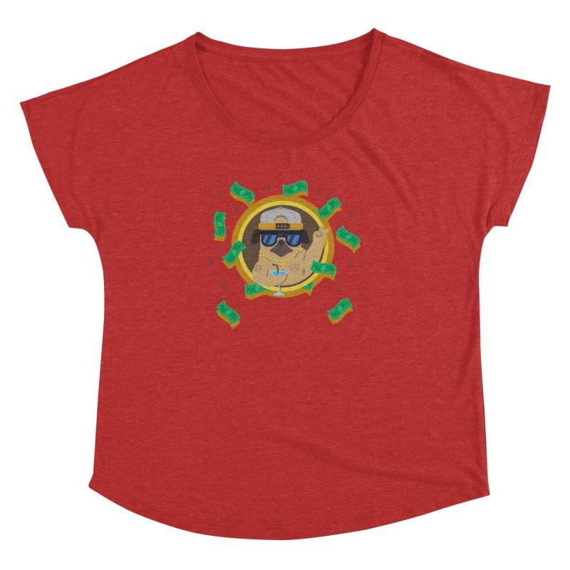 Pug Life Women's Dolman Scoop Neck by Aura Designs   Funny T shirt, Sweatshirt, Phone ca