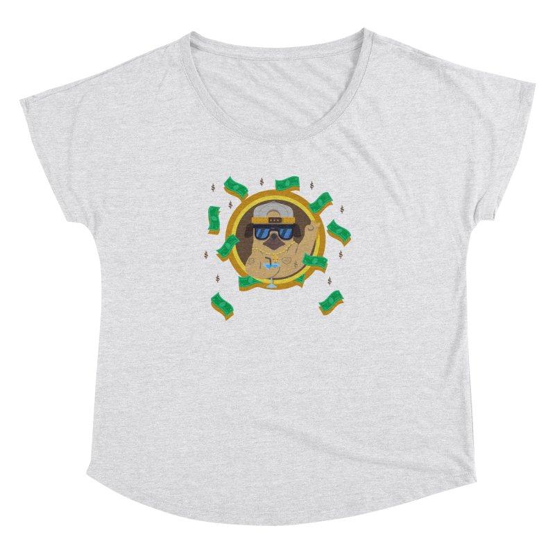 Pug Life Women's Dolman by Aura Designs | Funny T shirt, Sweatshirt, Phone ca