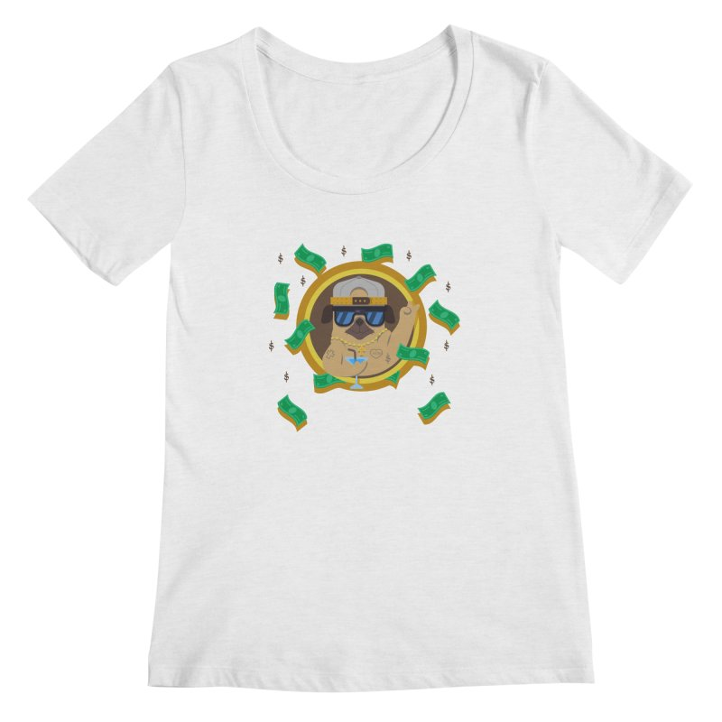 Pug Life Women's Scoopneck by Aura Designs | Funny T shirt, Sweatshirt, Phone ca