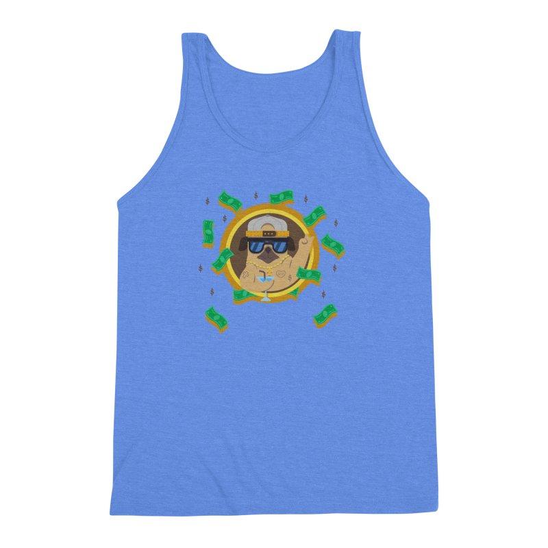 Pug Life Men's Triblend Tank by Aura Designs   Funny T shirt, Sweatshirt, Phone ca