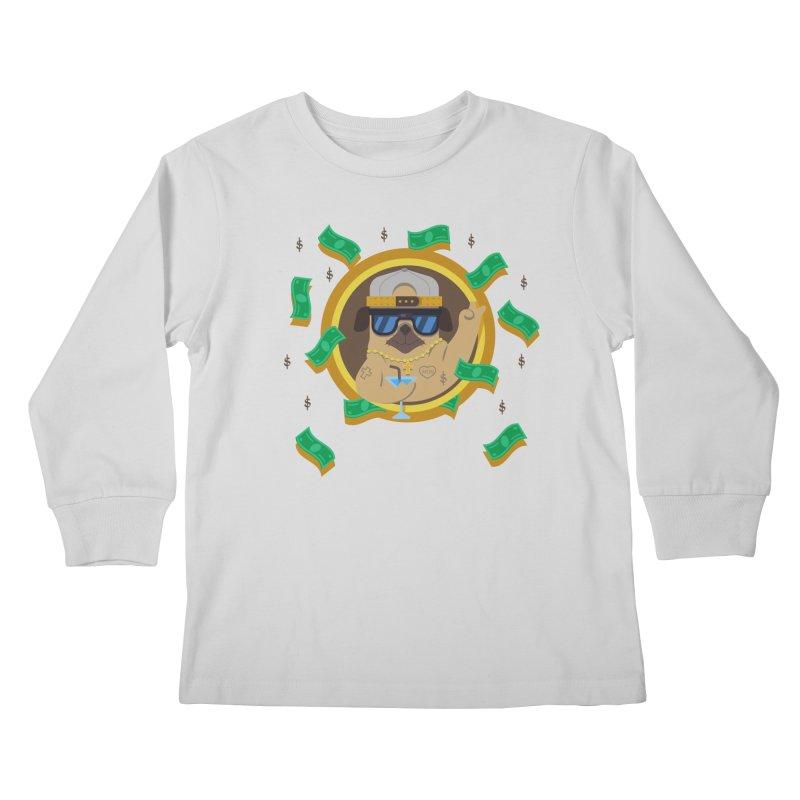 Pug Life Kids Longsleeve T-Shirt by Aura Designs | Funny T shirt, Sweatshirt, Phone ca