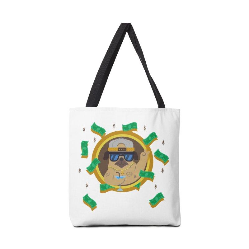 Pug Life Accessories Bag by Aura Designs | Funny T shirt, Sweatshirt, Phone ca