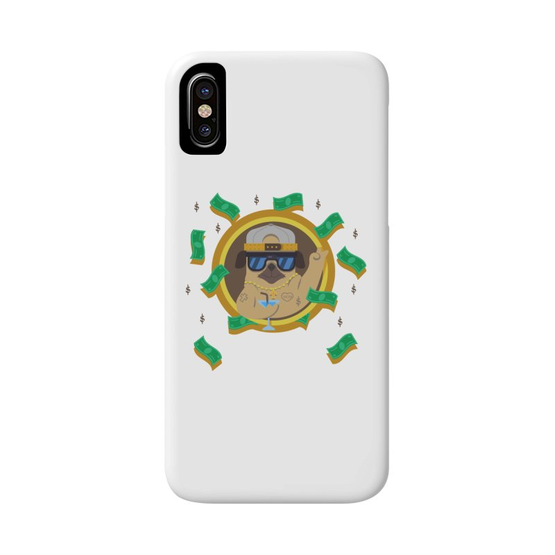 Pug Life Accessories Phone Case by Aura Designs | Funny T shirt, Sweatshirt, Phone ca