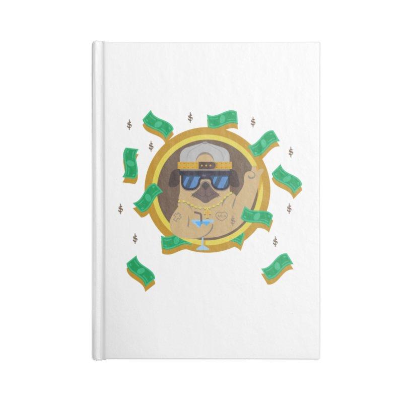 Pug Life Accessories Blank Journal Notebook by Aura Designs   Funny T shirt, Sweatshirt, Phone ca