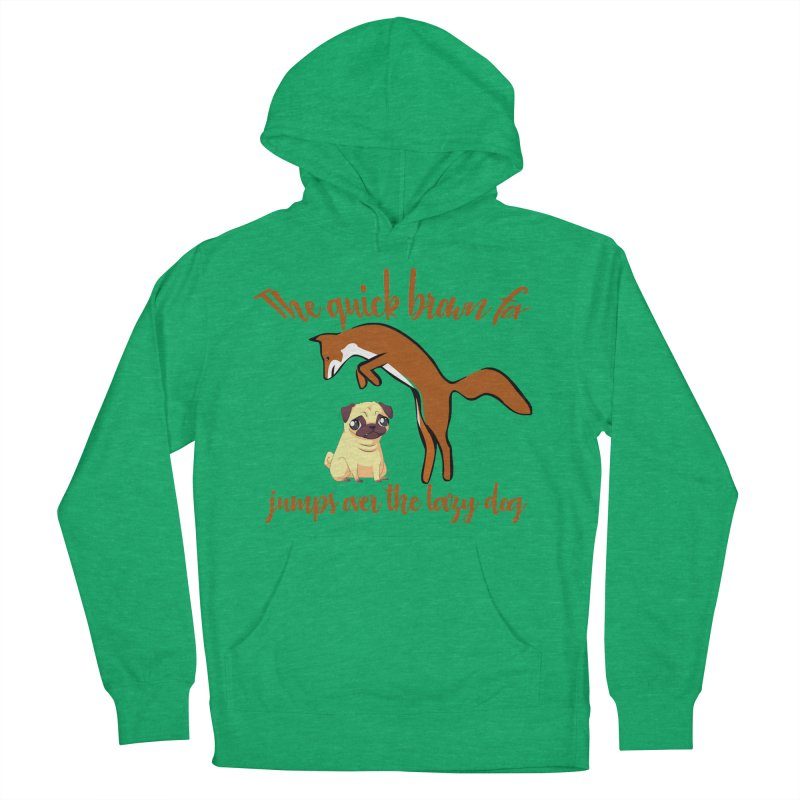 The quick brown fox jumps over the lazy dog Men's Pullover Hoody by Aura Designs | Funny T shirt, Sweatshirt, Phone ca