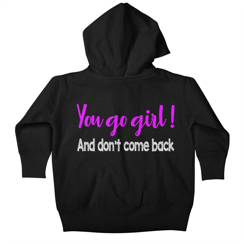 Sarcastic Girlfriend Kids Baby Zip-Up Hoody by Aura Designs | Funny T shirt, Sweatshirt, Phone ca