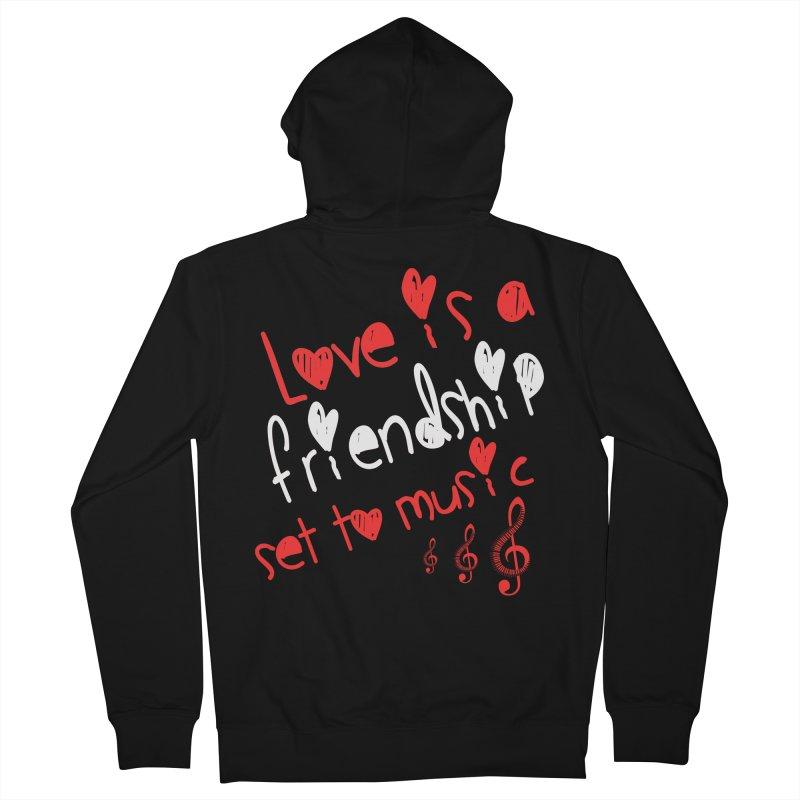 Love Men's Zip-Up Hoody by Aura Designs | Funny T shirt, Sweatshirt, Phone ca