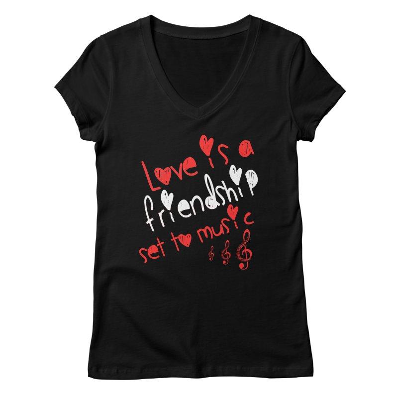 Love Women's Regular V-Neck by Aura Designs | Funny T shirt, Sweatshirt, Phone ca