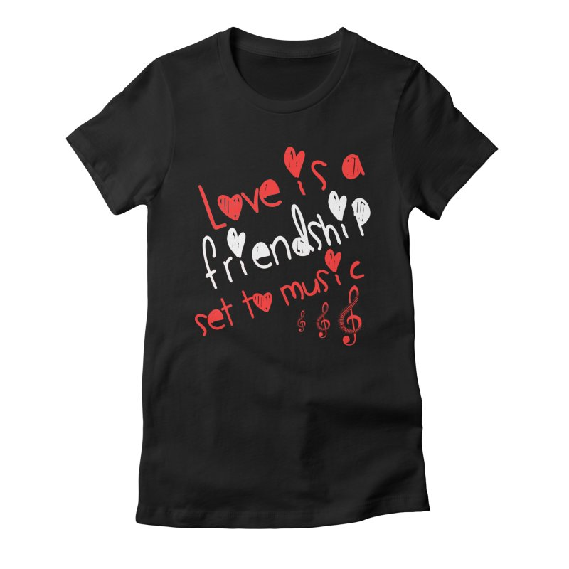 Love Women's Fitted T-Shirt by Aura Designs | Funny T shirt, Sweatshirt, Phone ca