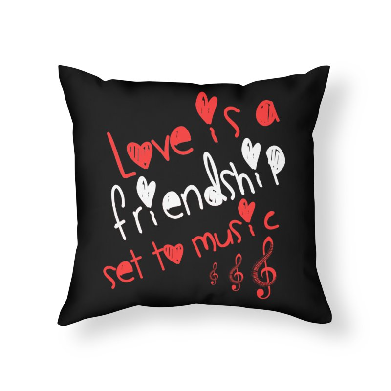 Love Home Throw Pillow by Aura Designs | Funny T shirt, Sweatshirt, Phone ca
