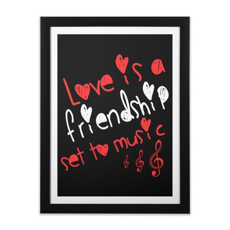 Love Home Framed Fine Art Print by Aura Designs | Funny T shirt, Sweatshirt, Phone ca