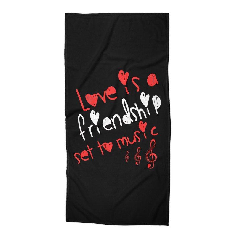 Love Accessories Beach Towel by Aura Designs | Funny T shirt, Sweatshirt, Phone ca
