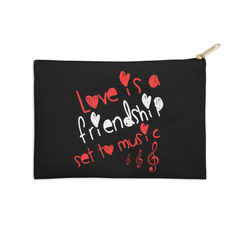 Love Accessories Zip Pouch by Aura Designs | Funny T shirt, Sweatshirt, Phone ca
