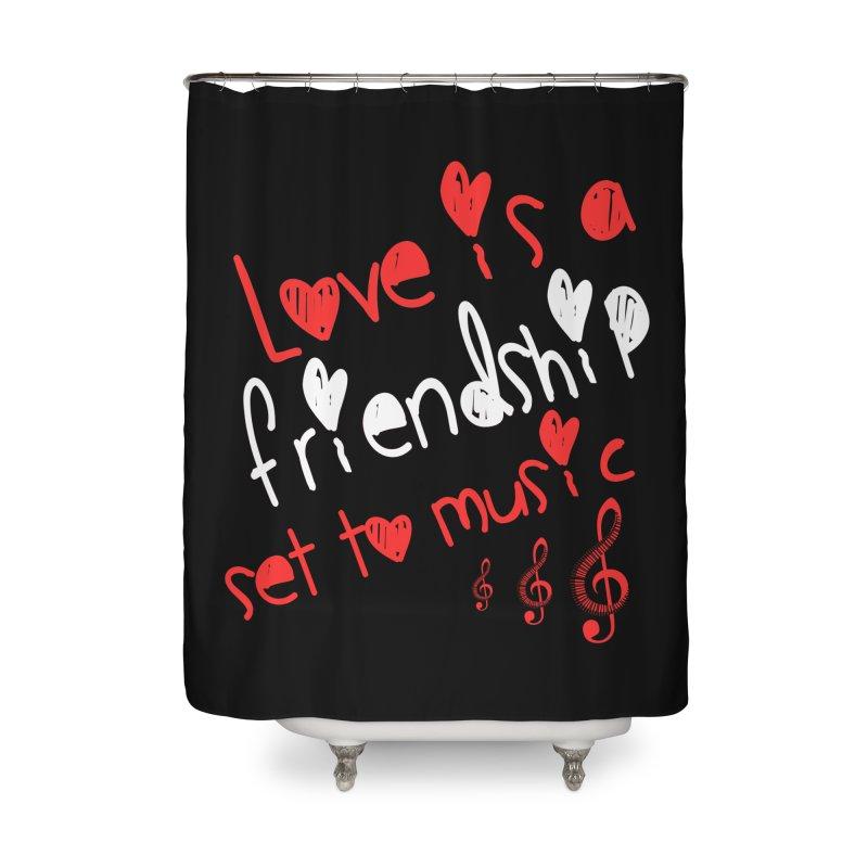 Love Home Shower Curtain by Aura Designs | Funny T shirt, Sweatshirt, Phone ca