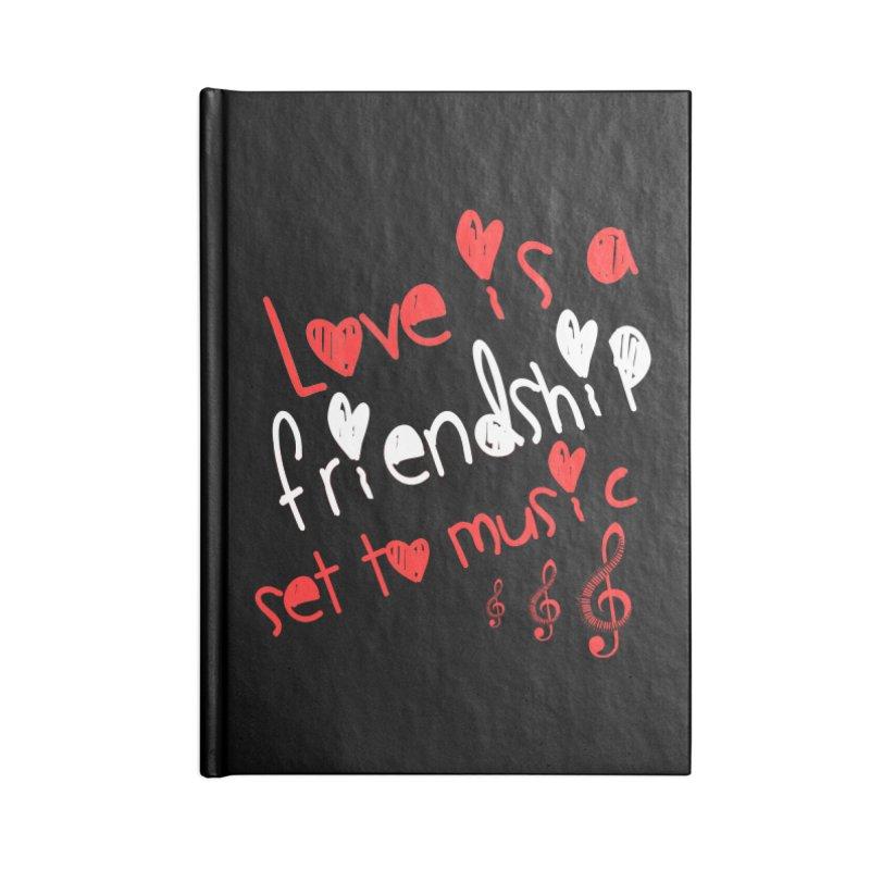 Love Accessories Blank Journal Notebook by Aura Designs   Funny T shirt, Sweatshirt, Phone ca