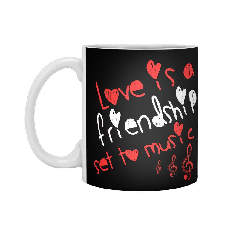 Love Accessories Mug by Aura Designs | Funny T shirt, Sweatshirt, Phone ca