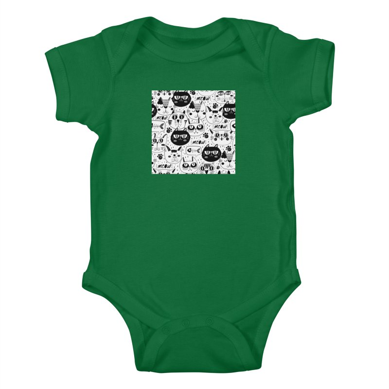 MEOW Kids Baby Bodysuit by Aura Designs | Funny T shirt, Sweatshirt, Phone ca