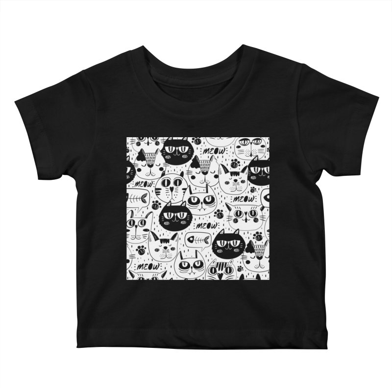 MEOW Kids Baby T-Shirt by Aura Designs | Funny T shirt, Sweatshirt, Phone ca