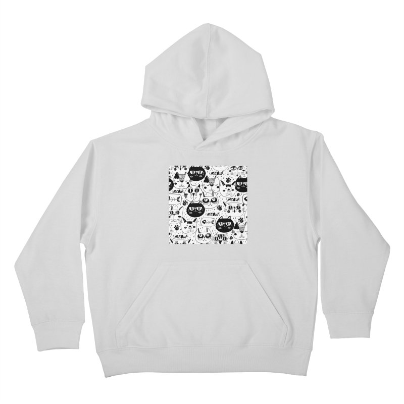 MEOW Kids Pullover Hoody by Aura Designs | Funny T shirt, Sweatshirt, Phone ca