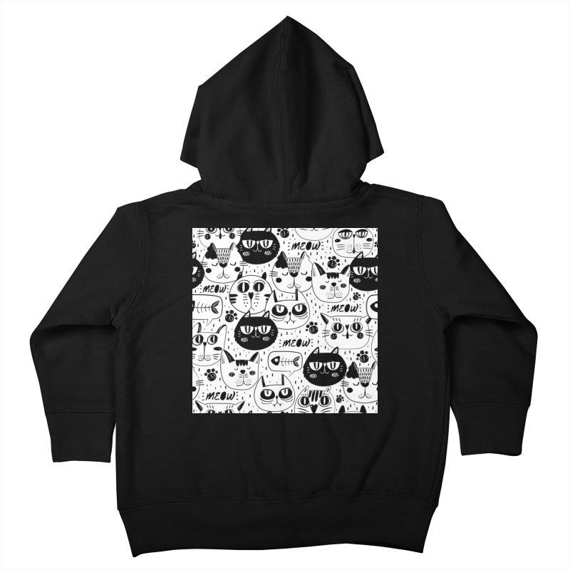 MEOW Kids Toddler Zip-Up Hoody by Aura Designs | Funny T shirt, Sweatshirt, Phone ca