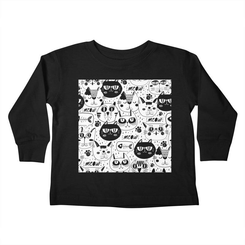 MEOW Kids Toddler Longsleeve T-Shirt by Aura Designs | Funny T shirt, Sweatshirt, Phone ca