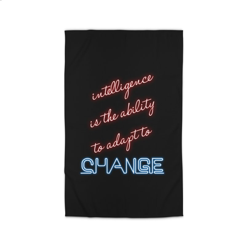 Intelligence is the ability to adapt to change Home Rug by Aura Designs | Funny T shirt, Sweatshirt, Phone ca