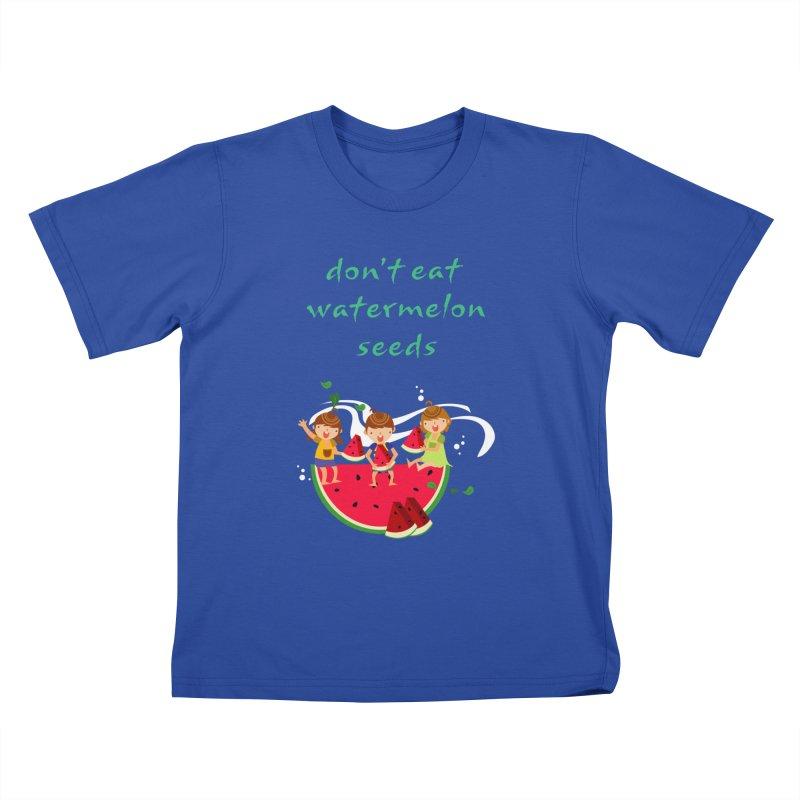 Don't eat watermelon seeds Kids T-Shirt by Aura Designs | Funny T shirt, Sweatshirt, Phone ca