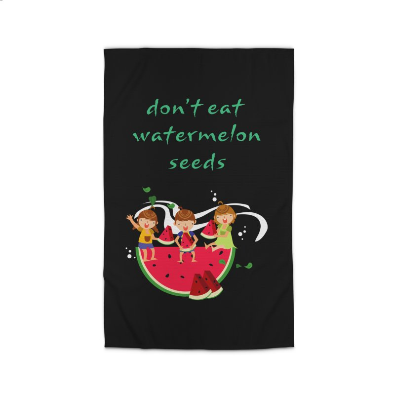 Don't eat watermelon seeds Home Rug by Aura Designs | Funny T shirt, Sweatshirt, Phone ca