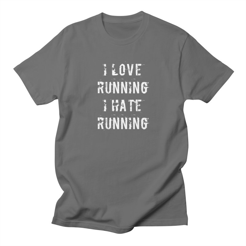 I Love running I Hate running Men's T-Shirt by Aura Designs | Funny T shirt, Sweatshirt, Phone ca