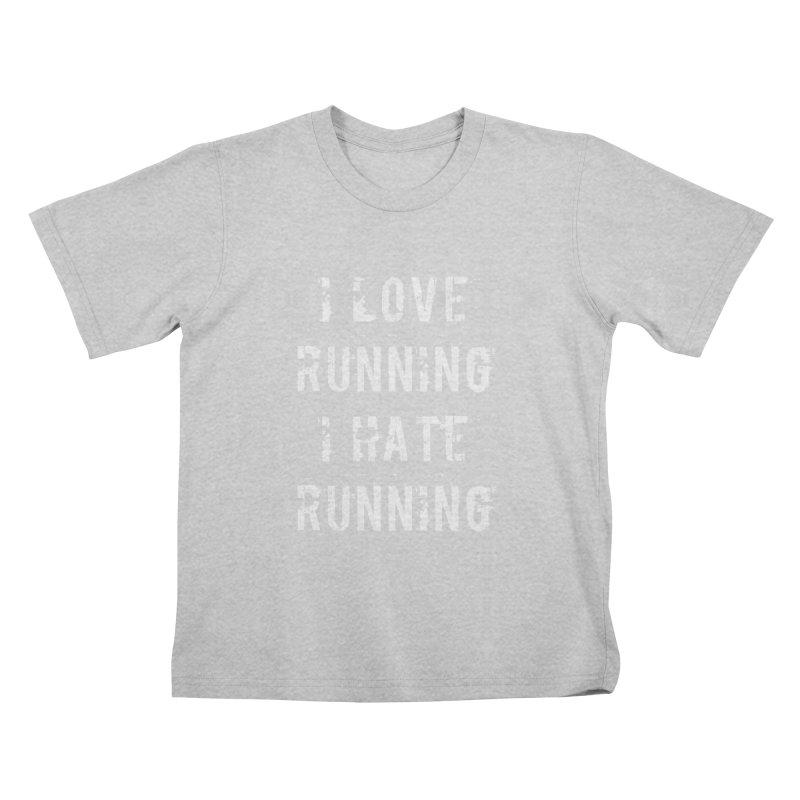 I Love running I Hate running Kids T-Shirt by Aura Designs   Funny T shirt, Sweatshirt, Phone ca