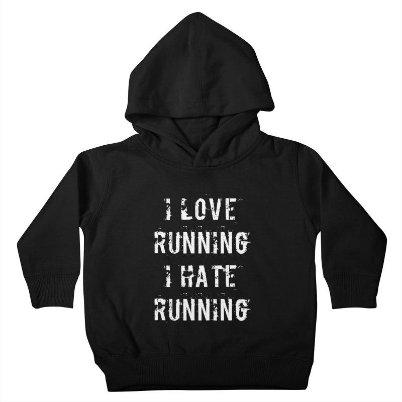 I Love running I Hate running Kids Toddler Pullover Hoody by Aura Designs | Funny T shirt, Sweatshirt, Phone ca
