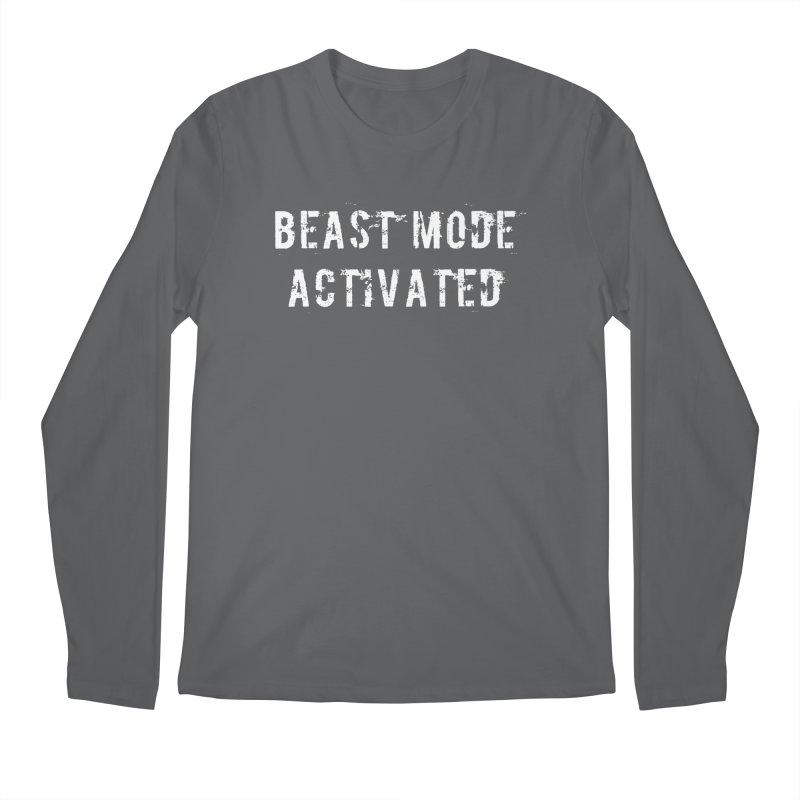 Beast Mode Activated Men's Regular Longsleeve T-Shirt by Aura Designs | Funny T shirt, Sweatshirt, Phone ca