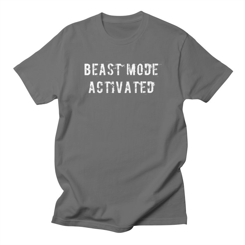 Beast Mode Activated Men's T-Shirt by Aura Designs | Funny T shirt, Sweatshirt, Phone ca